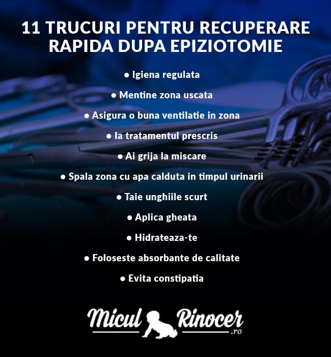 recuperare epiziotomie - MiculRinocer.ro