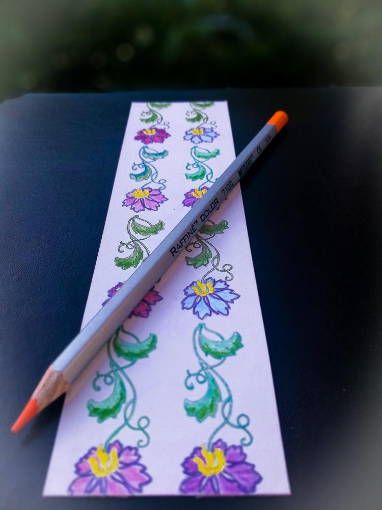 cum coloreaza creioanele colorate Marco Raffine Fine Art testate de MiculRinocer.ro