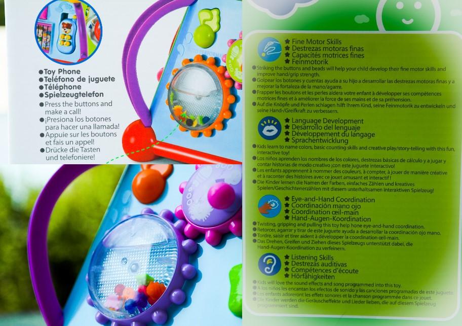 Centru activitati educativ Krista Hola similar cu Mappy Toys Tonomatul Educativ