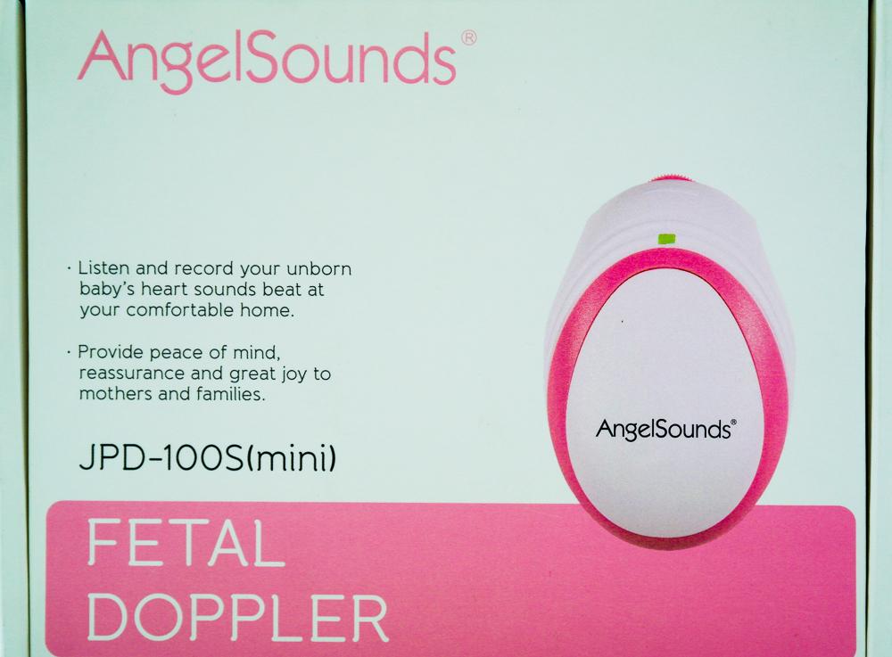 Monitor fetal Angelsound JPD-100S in cutie - la despachetare