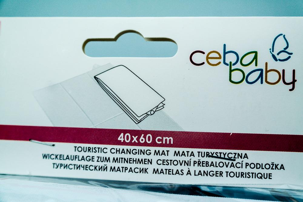 Eticheta pentru saltea de infasat pliabila Ceba Baby Balerina