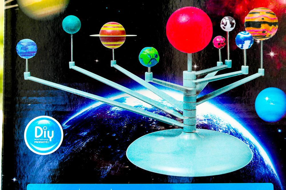 Produs testat de Miculrinocer.ro: Planetariu Perfect Products Sistemul solar 3D