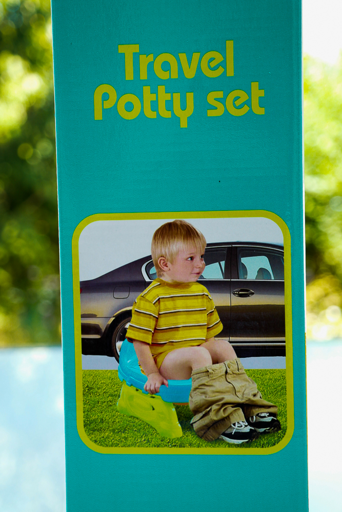 Olita si reductor portabile, 2 in 1, Krista Travel Potty - cum se foloseste