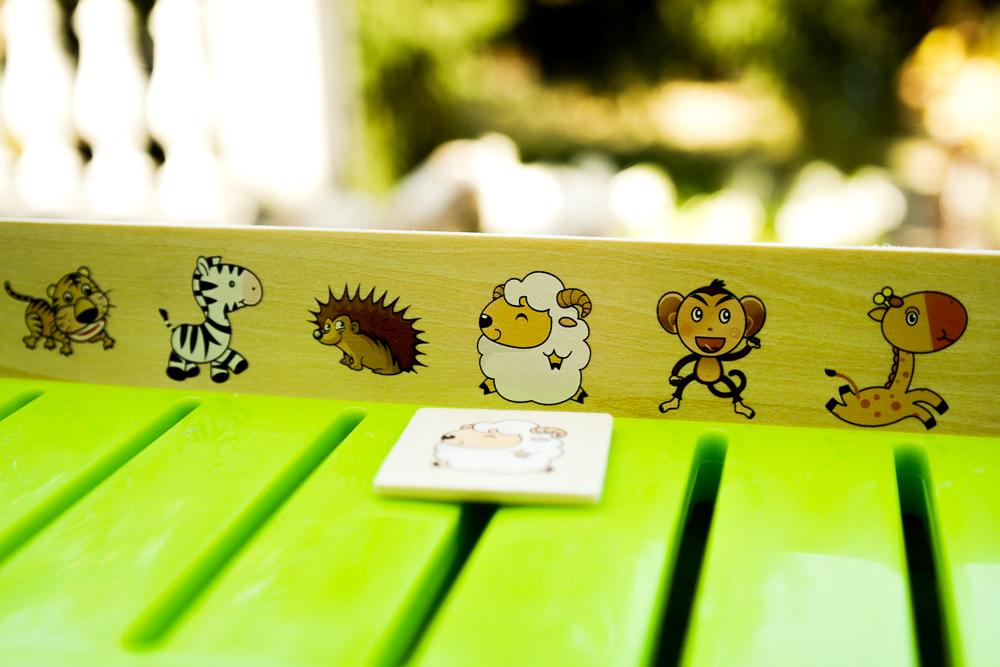 Piesele din jocul Krista Montessori Clasificarea 88 piese - tablita de repartizare