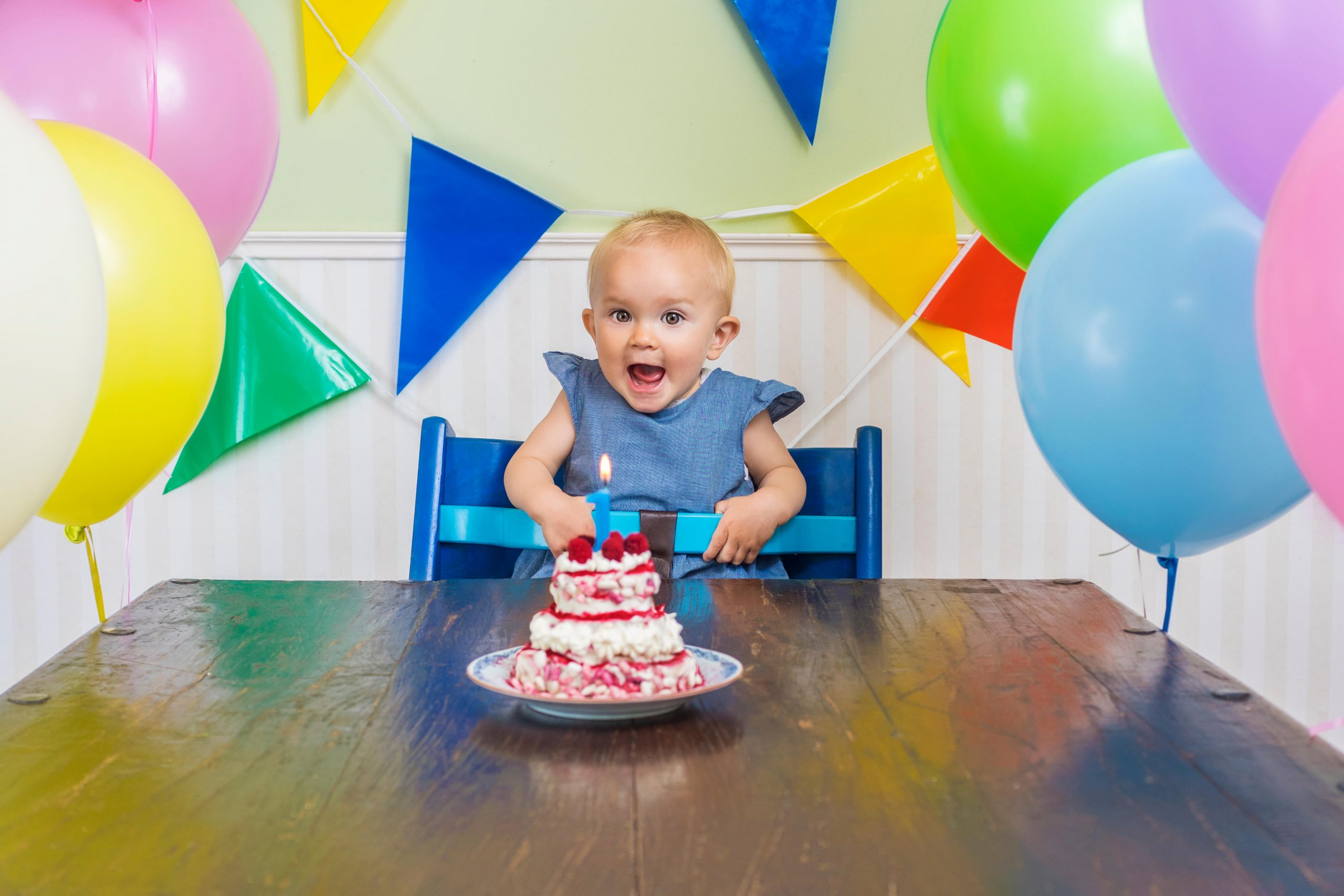 aniversarea de 1 an a bebelusului